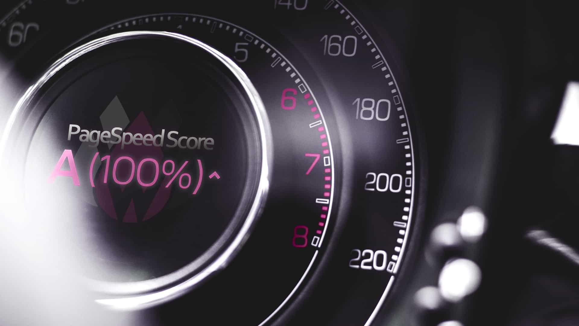 PageSpeed Optimierung - Tachometer: Optimierung von Website-Ladezeiten