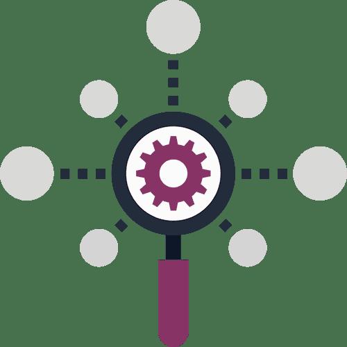 Suchmaschinenoptimierung (SEO) - Suche, Lupe, Einstellungen